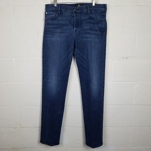 7 For All Mankind Mens Standard Jeans 38 X 35